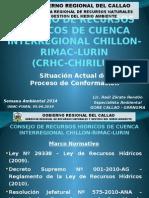 CONSEJO DE RECURSOS HIDRICOS DE LA CUENCA DEL RIO RIMAC-CHILLON-LURIN