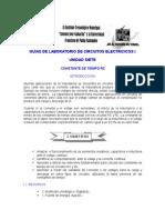 7. Constante de Tiempo RC.