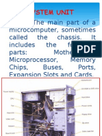 Parts of System Unit