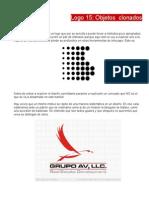 Practica Creacion de Logo Con Objetos Clonados en Inkscape