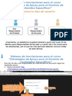 Manual de Inscripciones PFAEEN 2015
