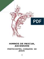 Himnos de Pascua, Pentecostés y San Pedro c. de Jesús y María