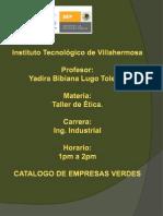 Etica Empresas Verdes 1
