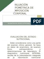 Evaluación Antropométrica C. Corporal
