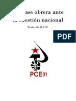 La Clase Obrera Ante La Cuestión Nacional