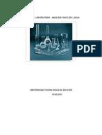 Informe de Laboratorio - Calidad Del Agua (1)