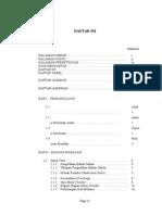 Daftar Isi Proposal