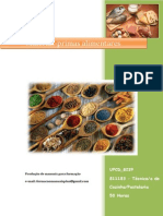 UFCD 8239 Matérias-primas Alimentares Índice