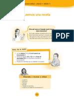 SESION DE 2DO GRADO RECETAS