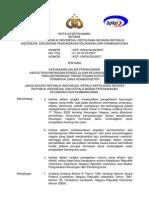 Peraturan Keputusan Kepala BPKP Tahun 2007 Nomor 1093-07