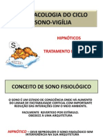 Farmacologia II - Aula 1. Hipinóticos; Profª Denise Chagas [07.08.2015]