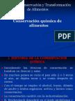 Conservacion química de alimentos