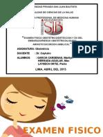 Examen Fisico Obstetrico