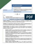 SRI Contribución tributaria