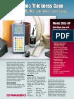 Panametrics 25DL-HP 2000 Version