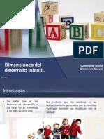Dimensiones Del Desarrollo Infantil