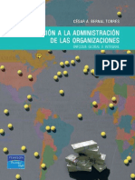 Introducción a La Administración de Las Organizaciones Cesar Bernal