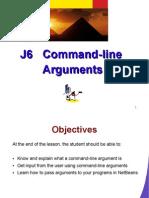J6 Command-Line Arguments