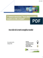 Pedro Prieto- matriz energética mundial