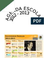 Agenda Escolar 2012 - 2013
