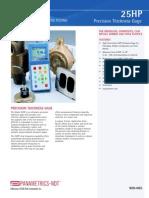 Panametrics 25HP Ultrasonic Precision Thickness Gage 2004