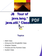 J8 Tour of Java.lang.* Java.util.* Classes