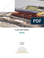 Plan Sectorial Naval 2012