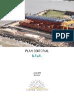 Plan Sectorial Naval 2012