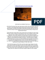 Perihal Nikmat Rezeki Dan Kasih Sayang Allah-Mistis Files