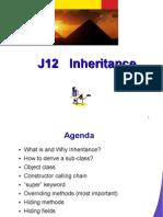 J12 Inheritance