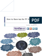 How to Save Tax for FY 2013_14