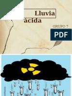 Geología Lluvia Ácida 0