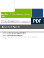 01 - Windows 8_1 Deployment Jump Start