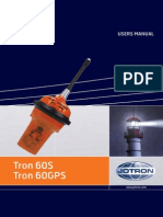 Users Manual Tron 60s Gps Vk 31939