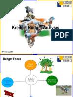 KBSL Budget Analysis