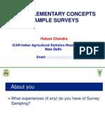 1.Overview of Sampling Scheme Hukum Chandra