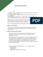 Protein Powder Details