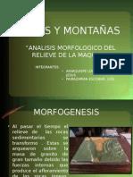 Morfología Descriptiva y Morfodinámica