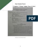 Contoh Proposal proyek bidang teknologi informasi