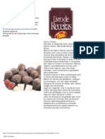 Chocolates Bel Receitas
