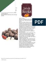 Chocolates Bel Receitas