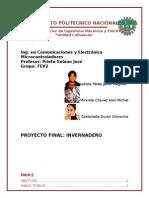Proyecto microcontrolador