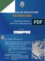 Strategia de Dezvoltare a Bucurestiului Pana in Anul 2035