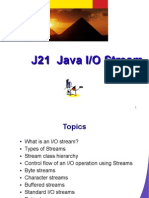 J21 Java I/O Stream