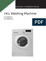 Logik L712WMS13 Washing Machine