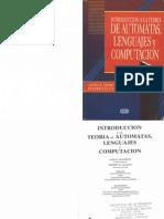 Introduccion a La Teoria de Automatas Lenguajes y Computacion