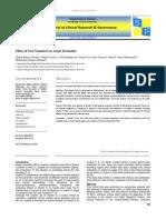 Effect of Oral Vitamin E on Atopic Dermatitis
