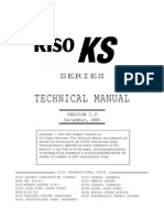 Riso KS 500 Service Manual