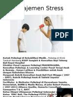 2. Manajemen Stress PPDS - Retno IG Kusuma