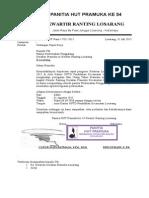 Agenda Surat Panitia HUT Pramuka Ke 54 - Copy